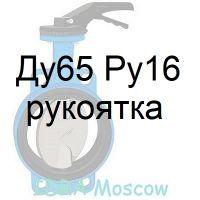 затвор поворотный Ду65 Ру16