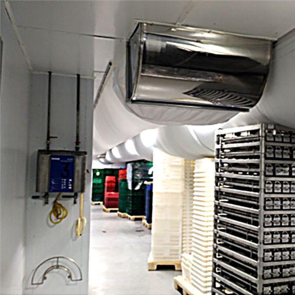 Система охлаждения производственного цеха.