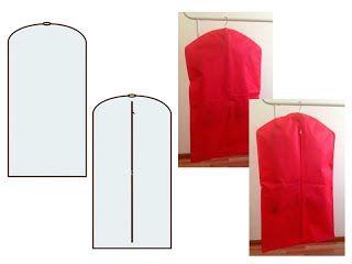 Чехол для одежды простой