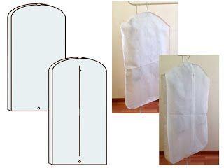 Чехол для одежды с расширением