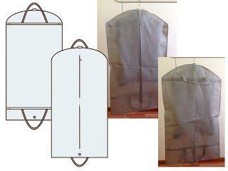 Чехол для одежды дорожный без расширения