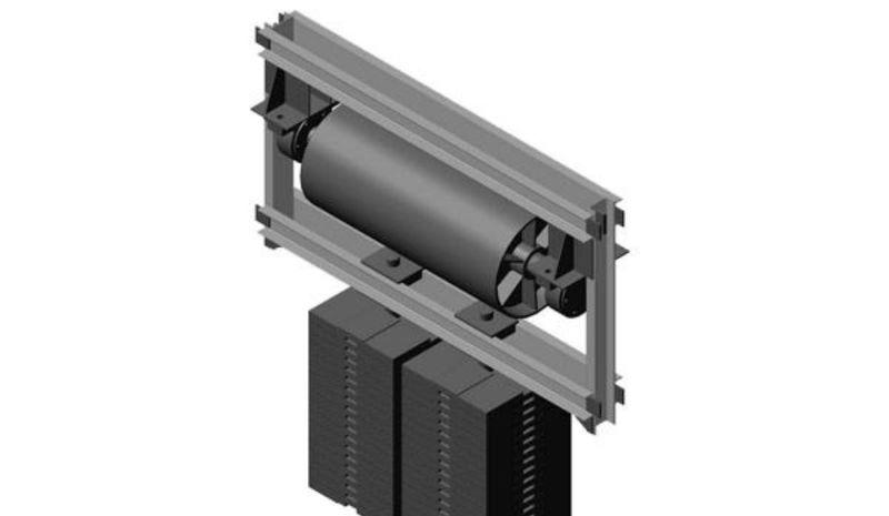 Натяжное устройство ленточного конвейера грузовые вертикальные конвейера с подачей наверх