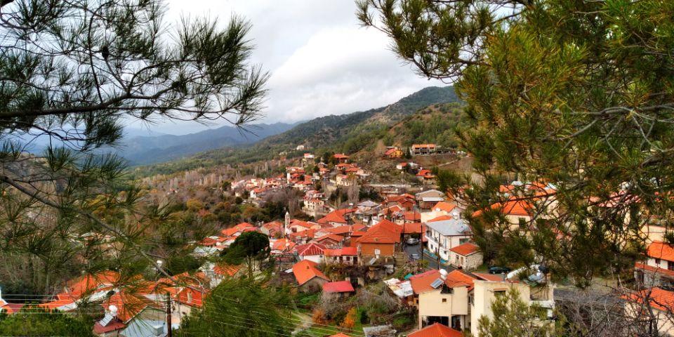 горная деревня Кипра