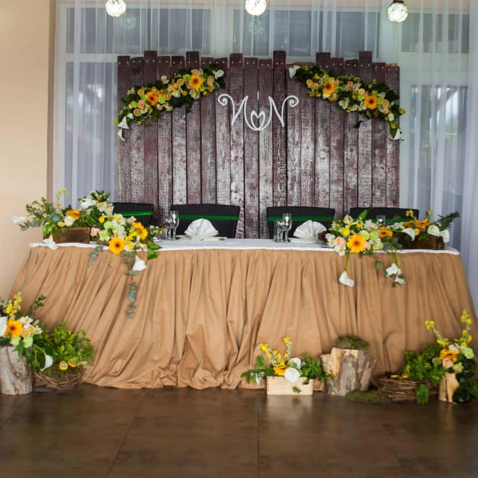оформление свадьбы бишкек