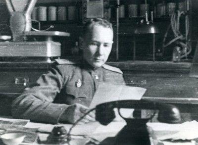 Б.В. Мегорский. Фото 1948 г.