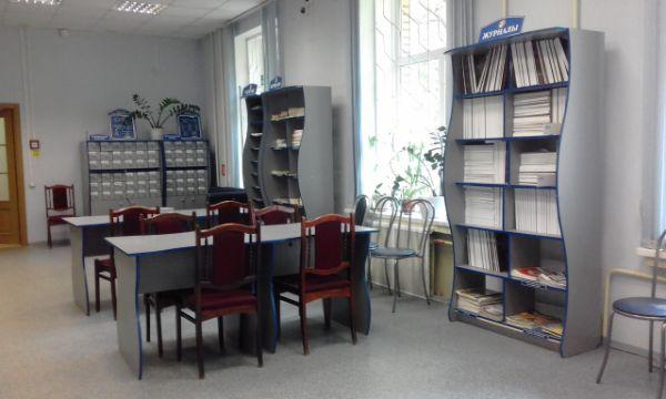 Библиотека № 163 (3-й Павловский пер., д. 14)