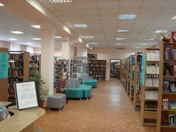 Библиотека № 162 им. К.М. Симонова