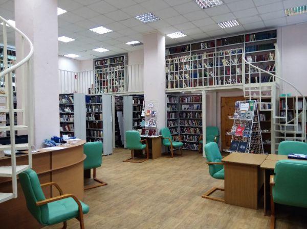 Центральная библиотека № 136 им. Л.Н. Толстого (пр-т Андропова, 38)