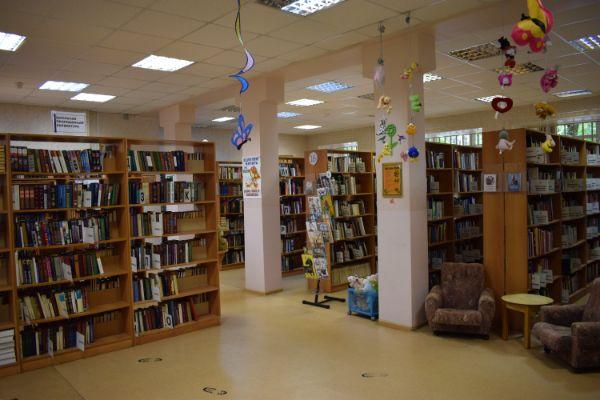 Библиотека № 165 (Нагатинская наб., 20к2)