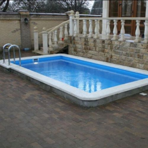 Бетонный скимерный бассейн