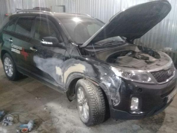 СТО кузовной ремонт автомобиля