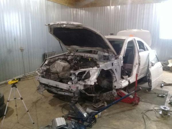 Малярный цех ремонт автомобиля