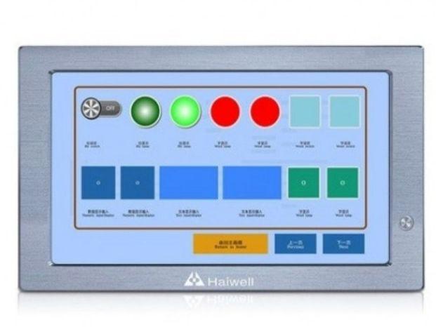 Панельный алюминиевый безвентиляторный компьютер HMI Q22 HAIWELL
