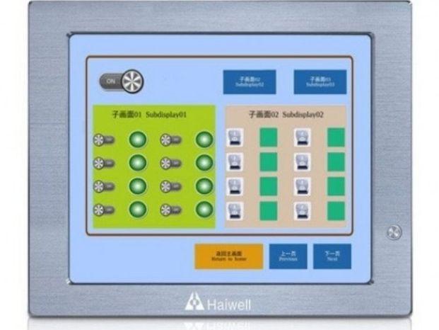 Панельный алюминиевый безвентиляторный компьютер HMI Q19 HAIWELL