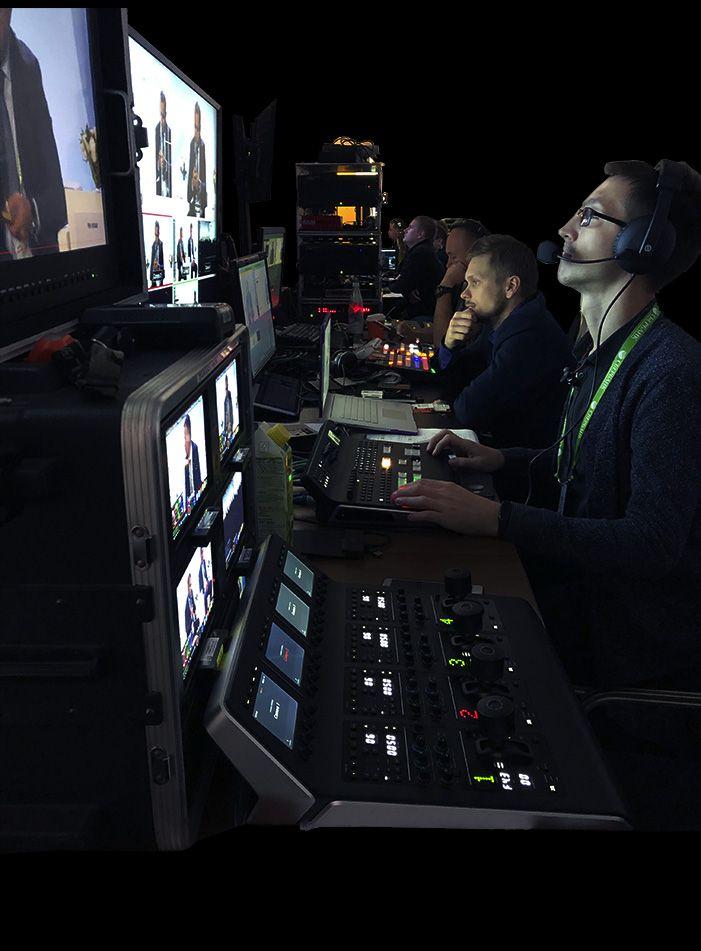 Организация и проведение видеотрансляции мероприятия