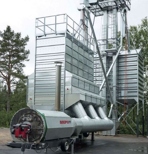 Мобильная шахтная зерносушилка МЕПУ MEPU серии М