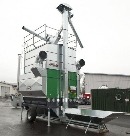 Мобильная шахтная зерносушилка МЕПУ MEPU серии К
