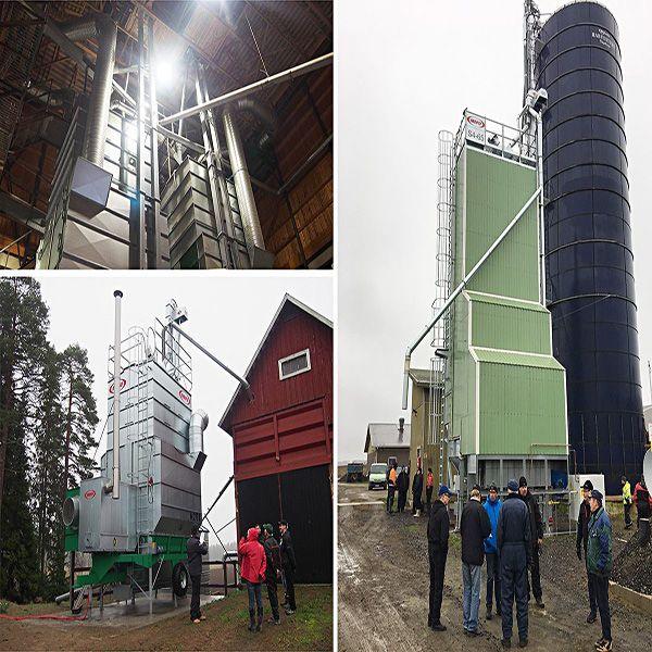 МЕПУ MEPU ведущий производитель зерносушильного оборудования
