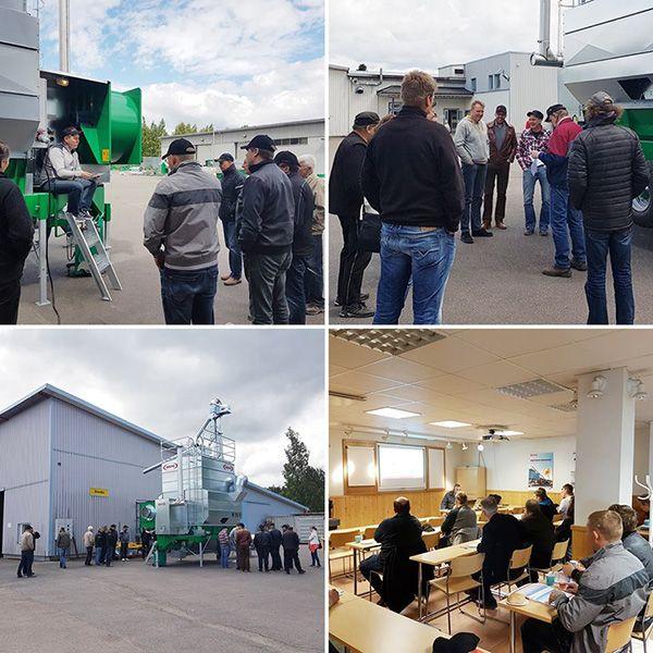 Финский завод МЕПУ MEPU ведущий производитель зерносушилок