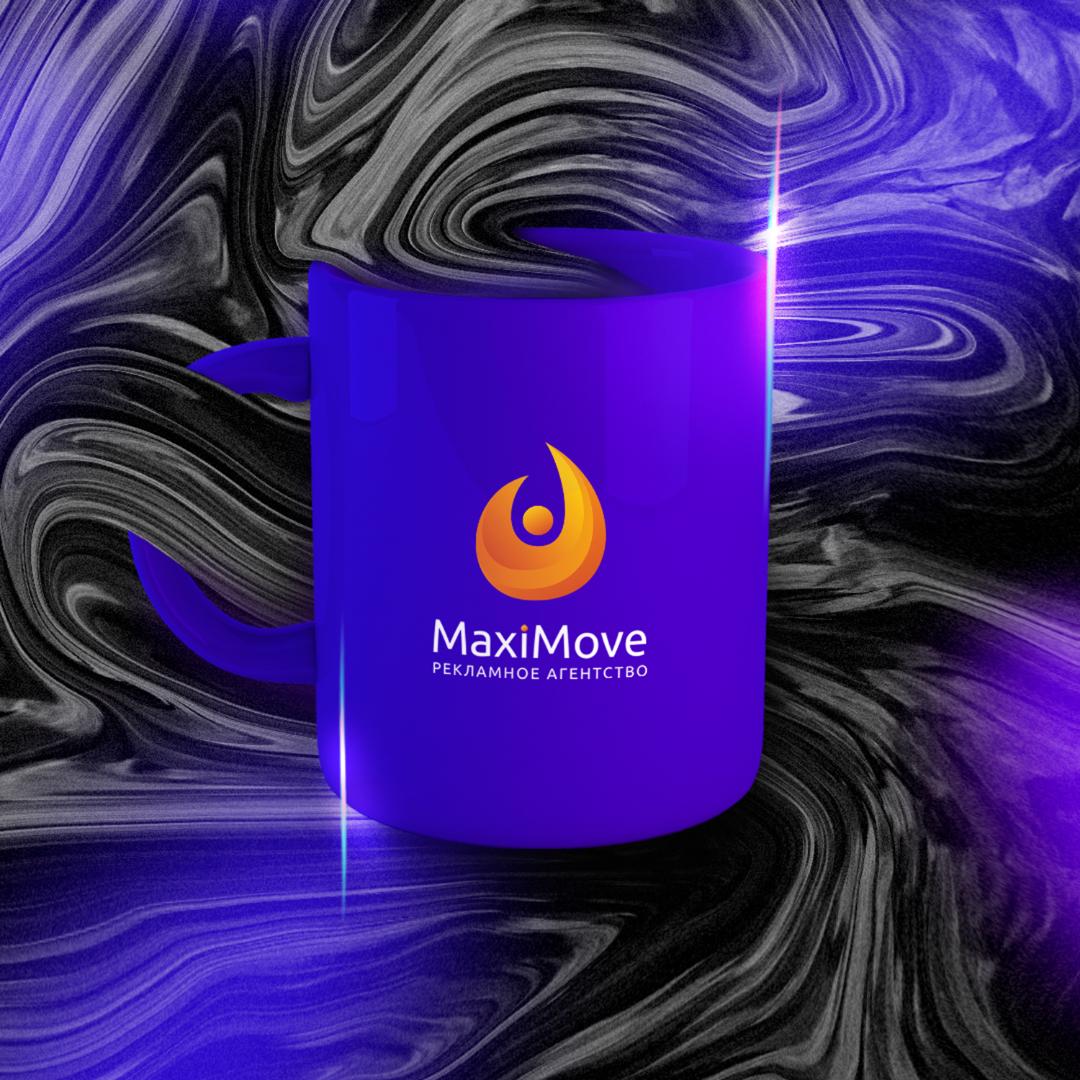Логотип рекламного агентства MaxiMove