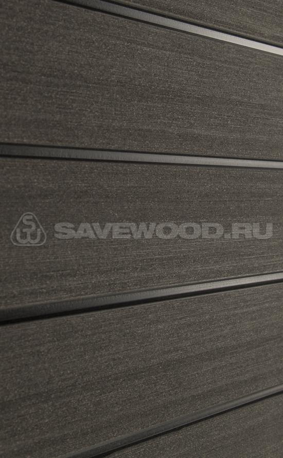 картинка Декоративные заборы SAVEWOOD /SW Agger БРАШ./Темно-коричневый/ 212/28/4000 мм от магазина ЛамаДек