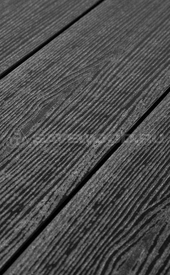 картинка Террасная доска SAVEWOOD /SW Abies /Черный/ 141/27 мм от магазина ЛамаДек