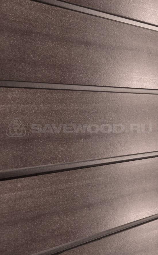 картинка Декоративные заборы SAVEWOOD /SW Agger БРАШ./Терракот/ 212/28/4000 мм от магазина ЛамаДек