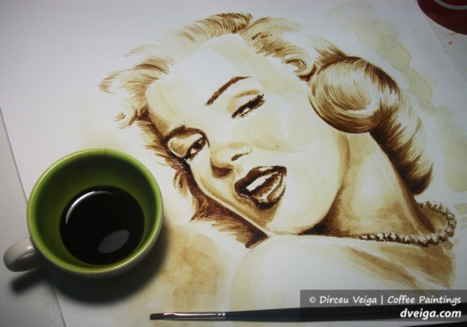 Кофейные наброски - порисуем кофе! Арт-Поток - школа раскрытия творческого потенциала