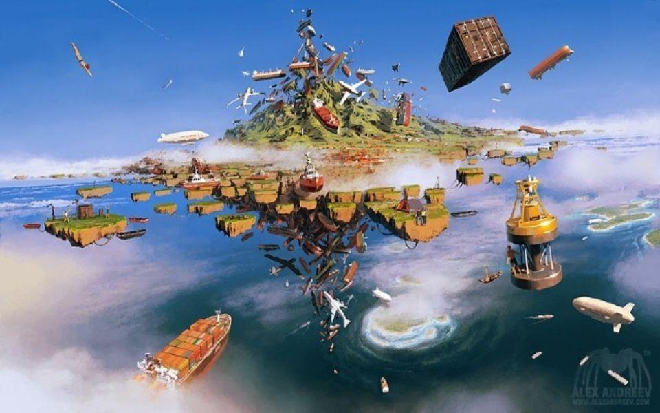 Цифровая живопись по-русски! Арт-Поток - школа раскрытия творческого потенциала