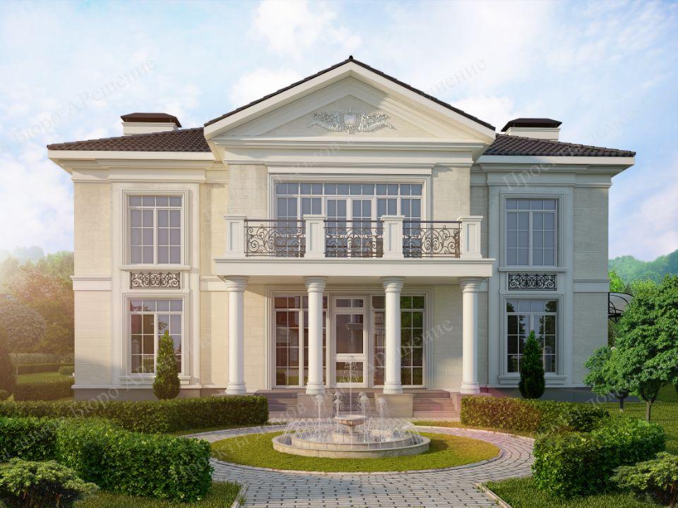 Визуализация проекта дома более 200 кв.м. По теме цена проекта дома