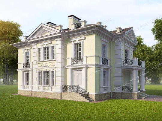 Проекты домов стили