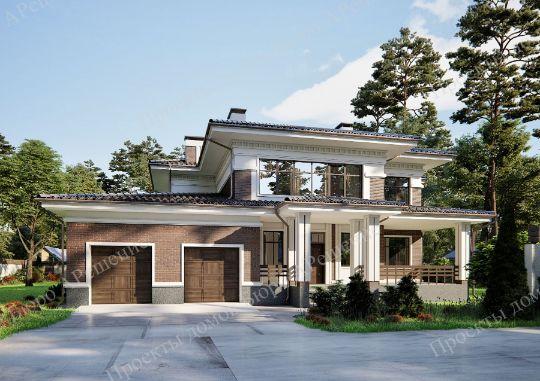 проект дома Санторини