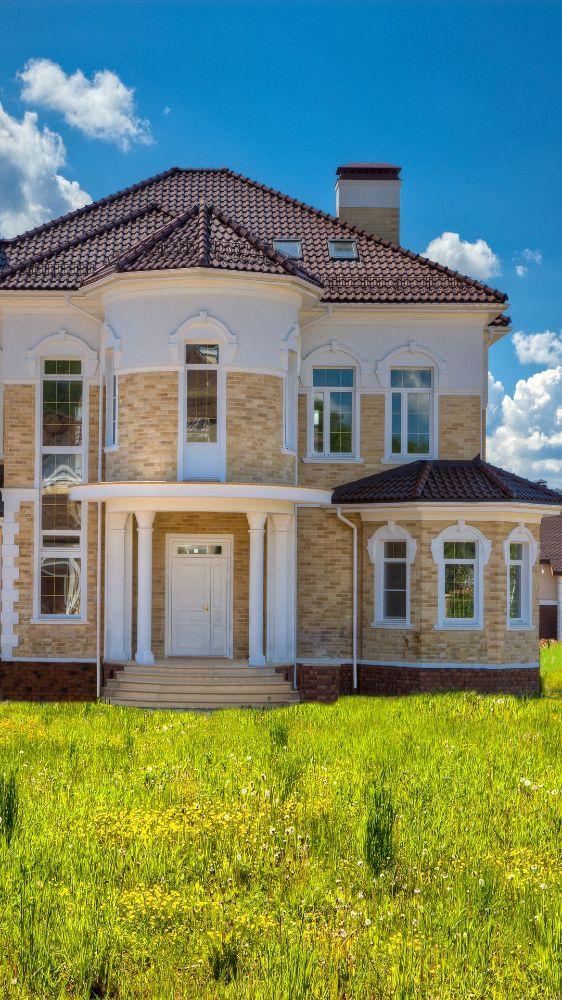 Проекты загородных домов Неоклассика