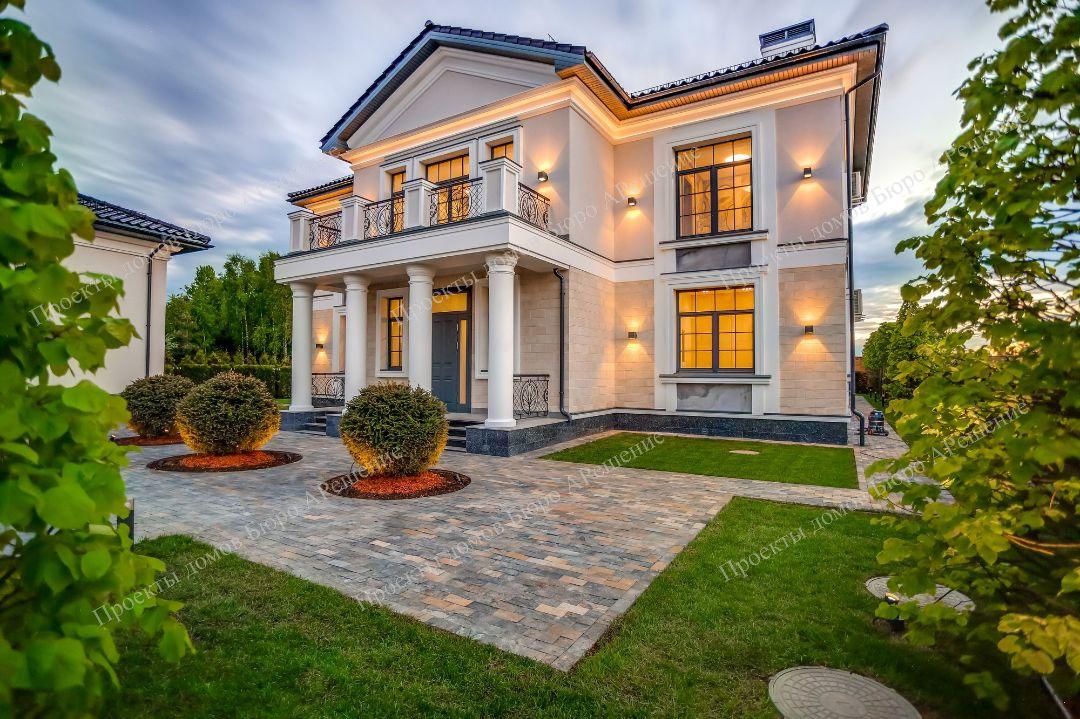 Проект дома более 200 кв.м - фото