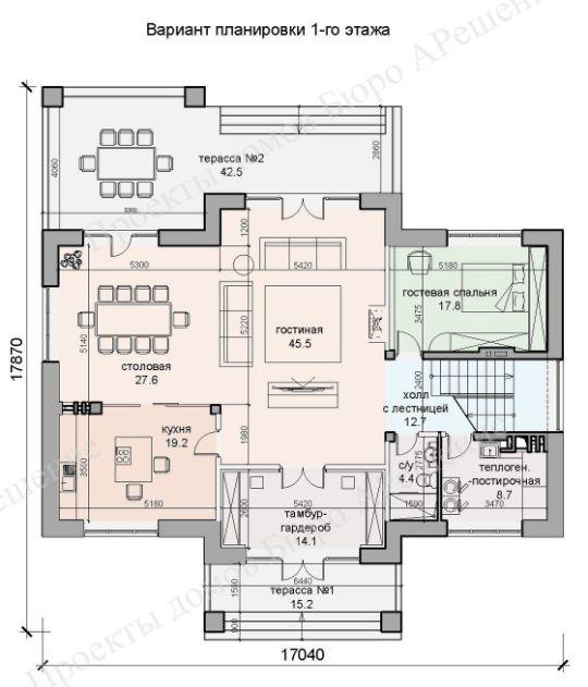 Цена проекта дома