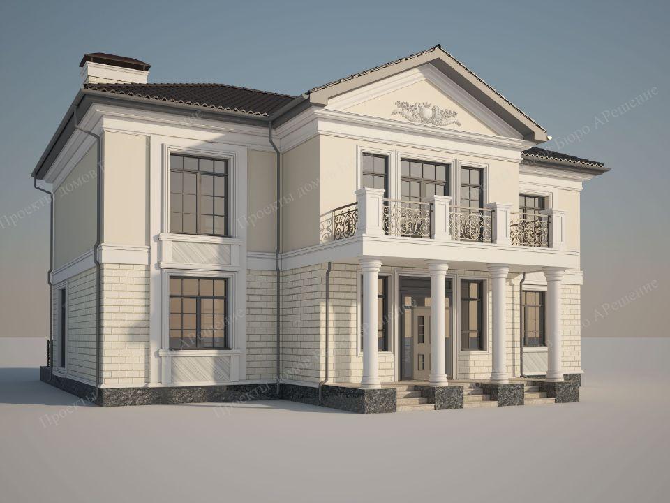 Проект дома Классика