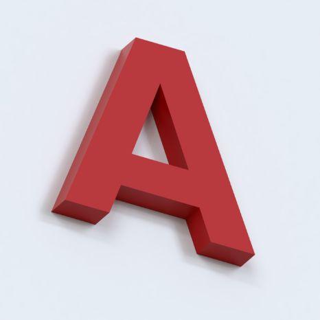 Объемные несветовые буквы