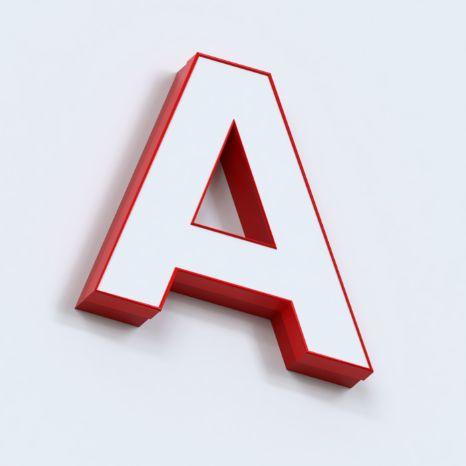 Объемные световые буквы из ALS профиля