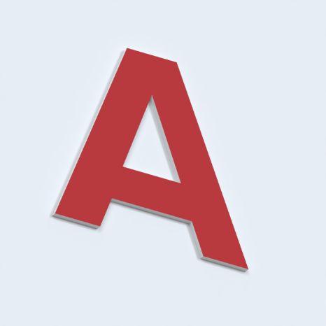 Псевдообъемные буквы