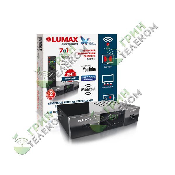Приемник цифровой LUMAX DV3211HD
