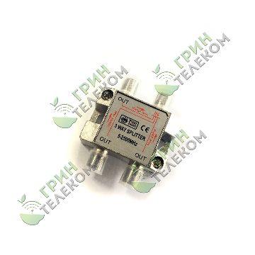 Делитель на 3TV F разъём 5-2500 МГц