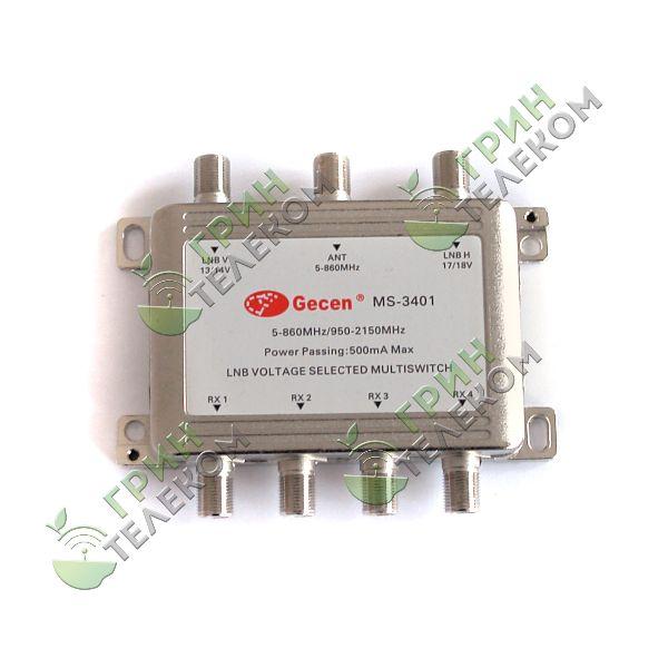 Мультисвич радиальный Gesen 3x8 MS-3401