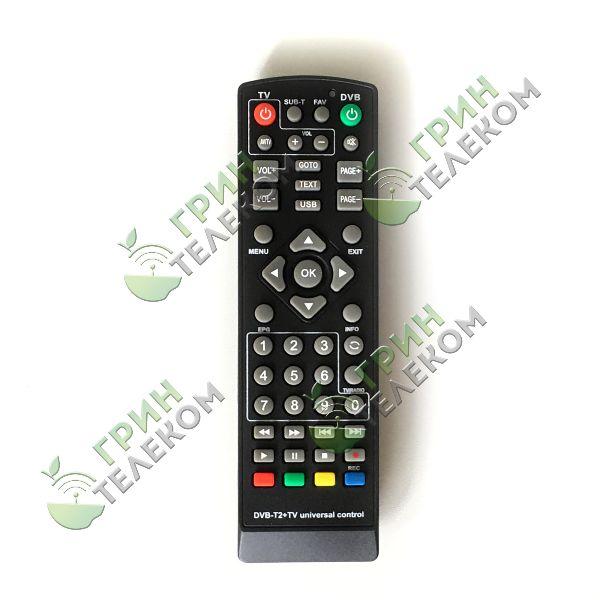 Пульт универсальный DVB-T2 Huayu для приставок DVB-T2+TV с функцией обучения