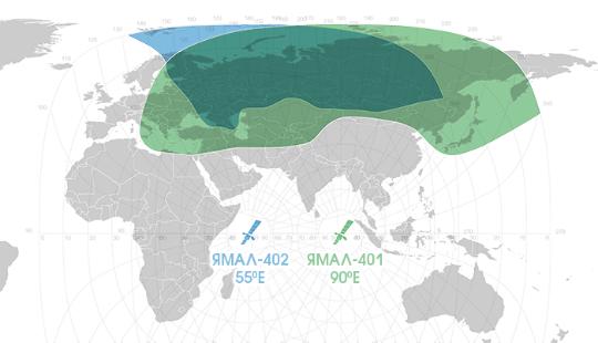 Спутниковый интернет ГазПром Космические системы