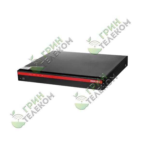 Видеорегистратор RedLine 8-канальный MHD 4К/5Мп с записью на 2 HDD