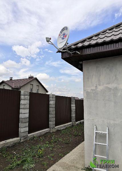 г. Магнитогорск, пос. Западный - Установка комплекта Триколор на 2 телевизора.