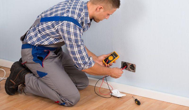 монтаж замена и ремонт электропроводки