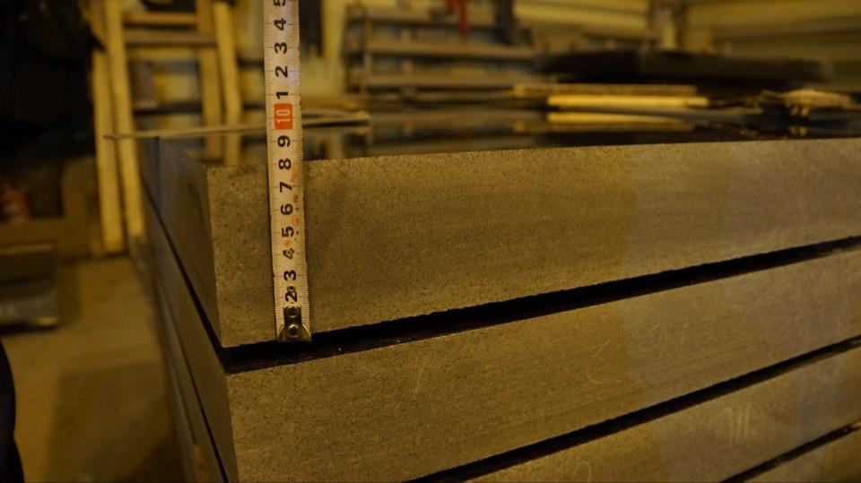 Строгие размеры изделий. Отклонение не более 1 мм.