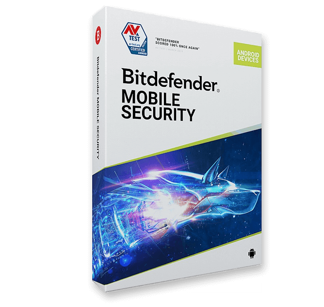 картинка Лицензия на 1 год на 1 девайс - Bitdefender MOBILE SECURITY for Android