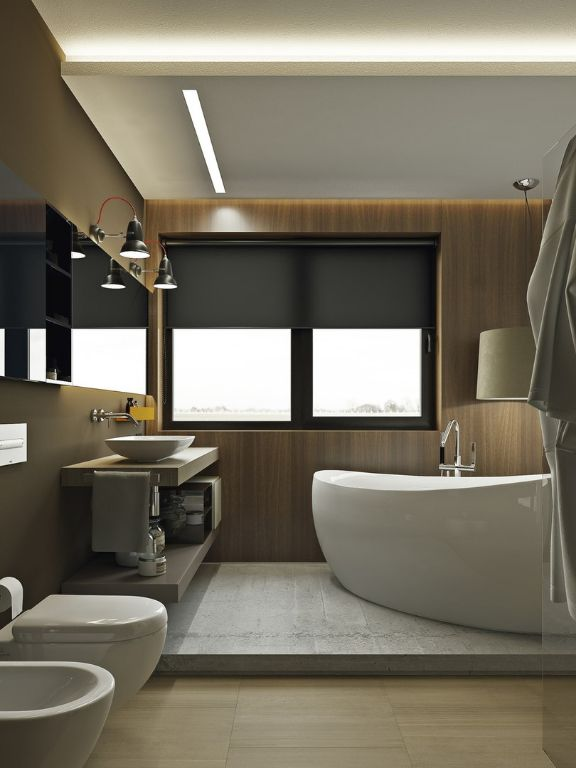 Квартира площадью 43 кв.м. Для современных, стильных, свободных людей, ценящих брутальную, но при этом уютную атмосферу